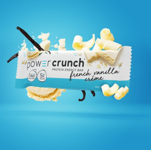 Power Crunch® French Vanilla Creme Protein Energy Bar Perspective: top