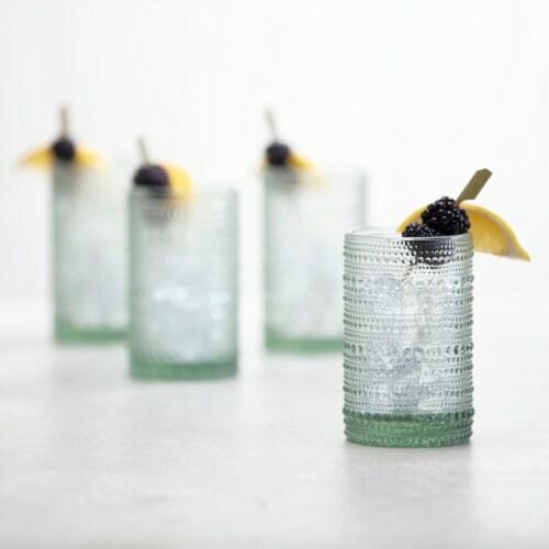 FORTESSA D&V Jupiter Double Old-Fashioned Beverage Glasses - 6 Pack - Sage Perspective: top