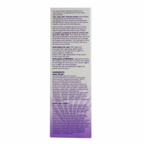 Bliss Firm Baby Firm Total Eye System 2x7.5ml Perspective: top