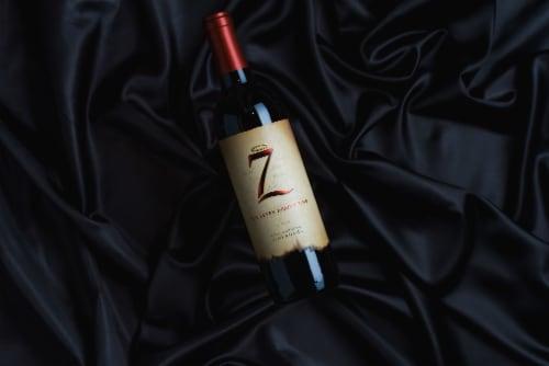Michael David The Seven Deadly Zins Zinfandel Red Wine Perspective: top
