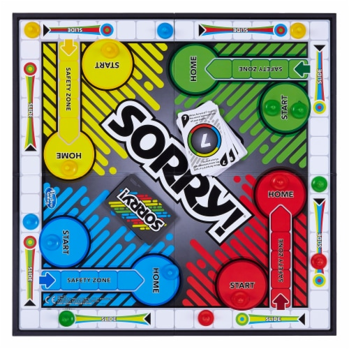 Hasbro Sorry! Board Game Perspective: top