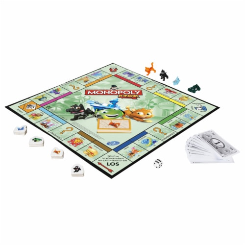 Hasbro Monopoly Junior Perspective: top