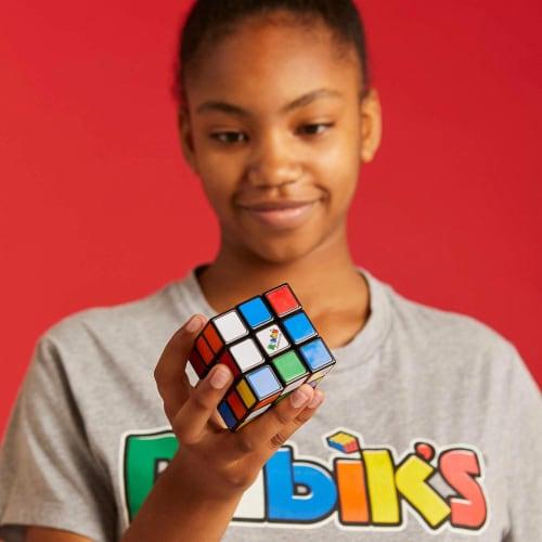 Hasbro Gaming Rubik's Cube Game Perspective: top