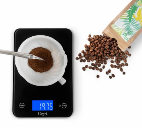 Ozeri Touch Professional Digital Kitchen Scale (12 lbs Edition) Perspective: top