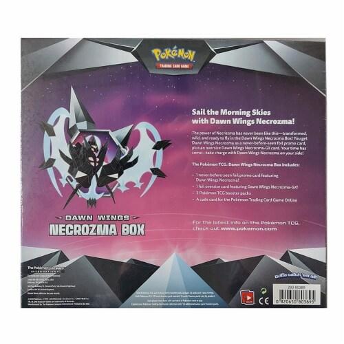 Pokemon Dawn Wings Necrozma Box Necrozma-GX TCG Trading Card Game Collectible Perspective: top
