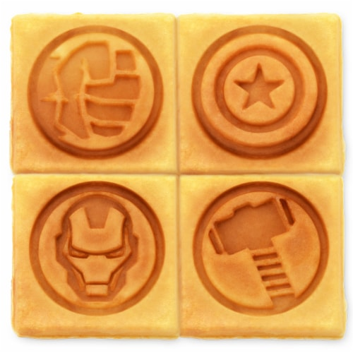 Marvel Avengers Waffle Maker Perspective: top