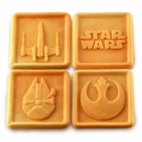 Select Brands Star Wars Four Waffle Maker Perspective: top