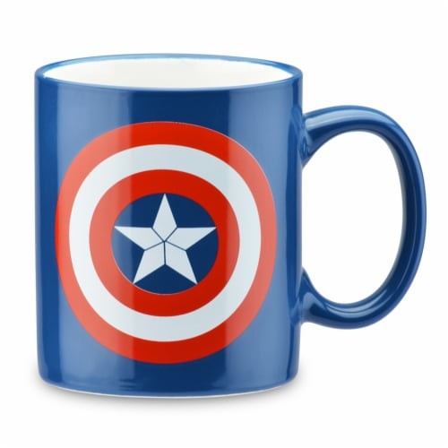 Marvel Captain America Coffee Maker & Mug Perspective: top