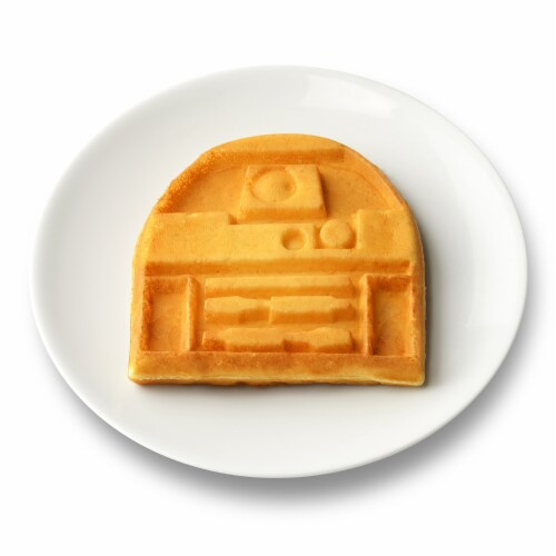 Select Brands Star Wars R2-D2 Round Waffle Maker Perspective: top