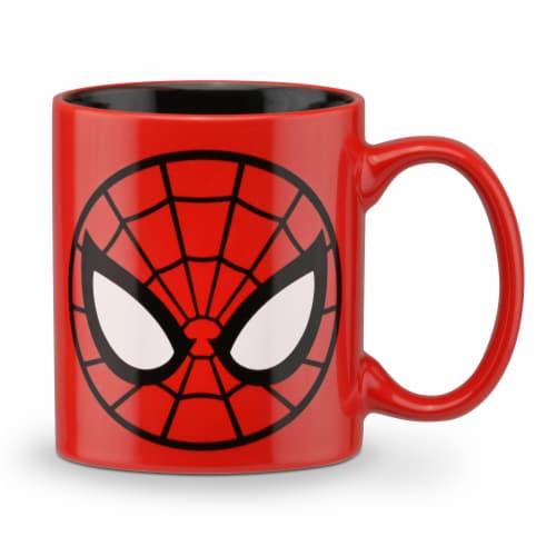 Marvel Spider Man Coffee Maker & Mug Perspective: top