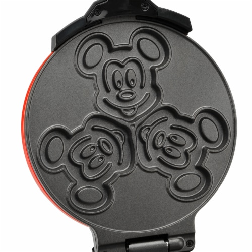 Select Brands Disney Mickey Mouse Double Flip Waffle Maker Perspective: top
