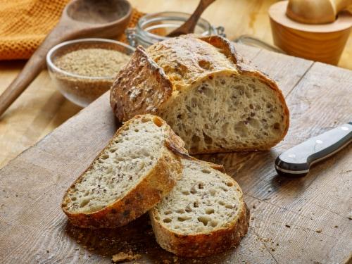 Izzio Pane Al Lino Bread Perspective: top