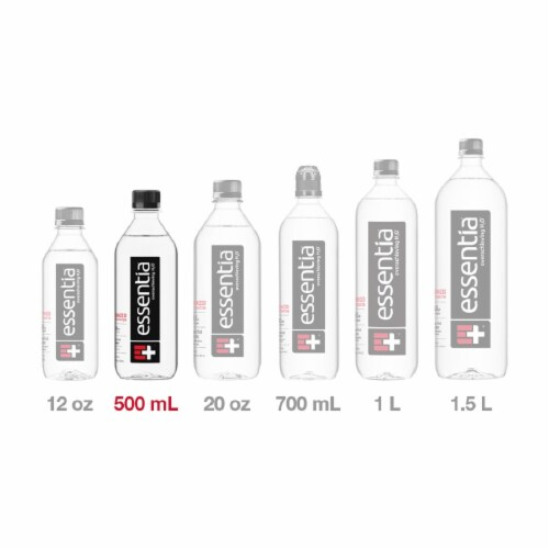 Essentia® Purified Water Perspective: top