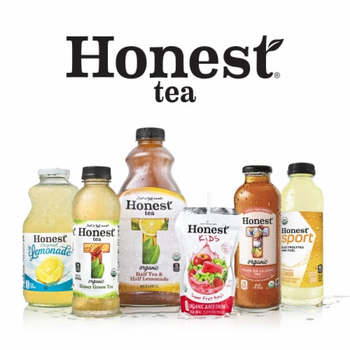 Honest Organic Half Tea & Half Lemonade Perspective: top