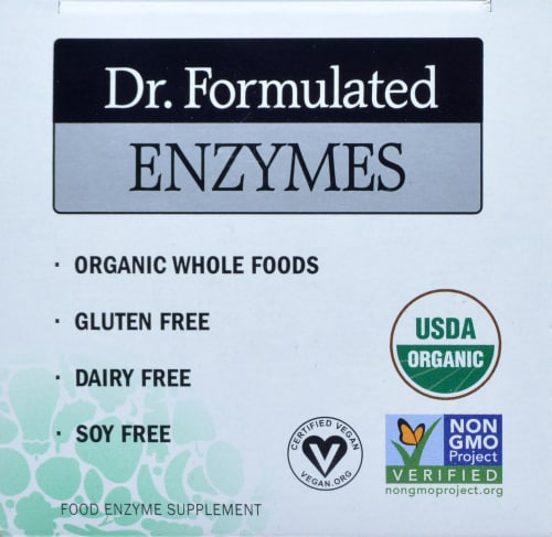Garden of Life Dr Formulated Organic Digest + Enzymes Chewables Perspective: top
