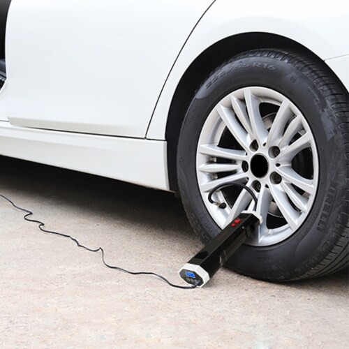 IronMax Rechargeable Wireless Air Pump Car w/ Light Perspective: top