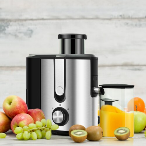 Costway Juicer Machine Juicer Extractor Dual Speed w/ 2.5'' Feed Chute Perspective: top