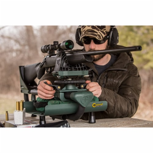 Caldwell Lead Sled 2 Outdoor Range Adjustable Ambidextrous Rifle Shooting Rest Perspective: top