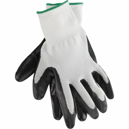 West Chester Protective Gear Men's Large Nitrile Coated Glove Perspective: top