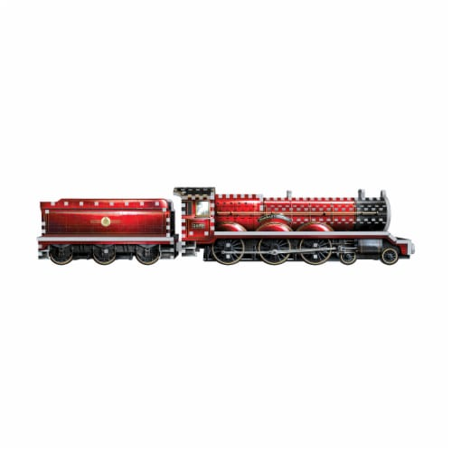 Wrebbit Harry Potter Collection Hogwarts Express 3D Puzzle Perspective: top