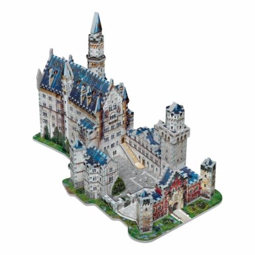 Wrebbit Neuschwanstein Castle 3D Puzzle Perspective: top
