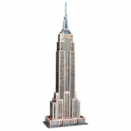 Wrebbit Empire State Building 3D Puzzle Perspective: top