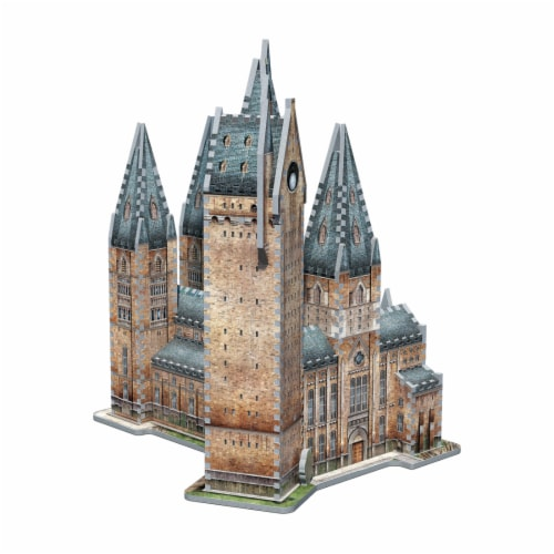 Wrebbit Harry Potter Collection Hogwarts Astronomy Tower 3D Puzzle Perspective: top
