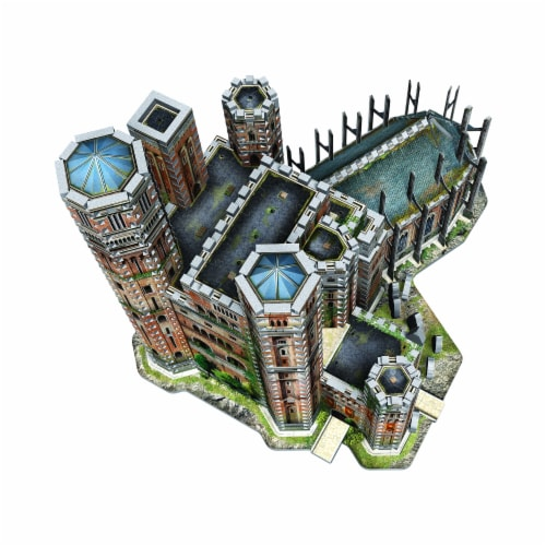 Wrebbit Game of Thrones The Red Keep 3D Puzzle Perspective: top