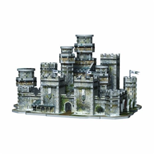 Wrebbit Urbania Collection 3D Puzzle Perspective: top
