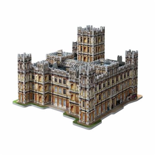 Wrebbit Downton Abbey 3D Puzzle Perspective: top