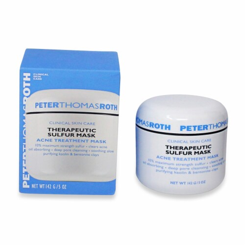 Peter Thomas Roth Therapeutic Sulfur Acne Treatment Mask Perspective: top