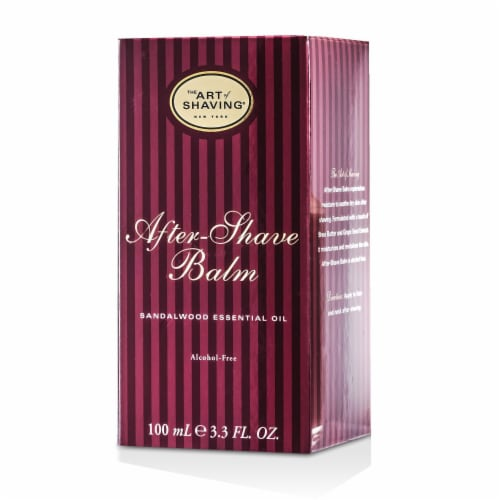 The Art Of Shaving After Shave Balm  Sandalwood Essential Oil 100ml/3.4oz Perspective: top