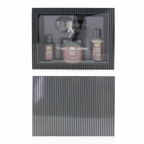 The Art Of Shaving 4 Elements Shaving Full Size Kit  Sandalwood: PreShave Oil 60ml + Shaving Perspective: top
