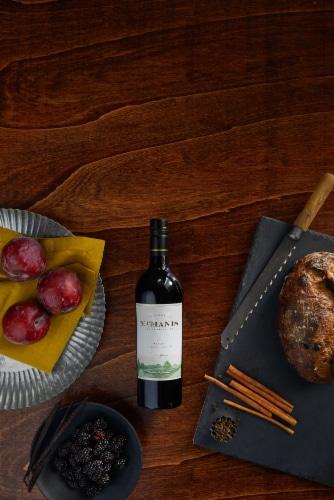 McManis Family Vineyards Merlot Red Wine Perspective: top