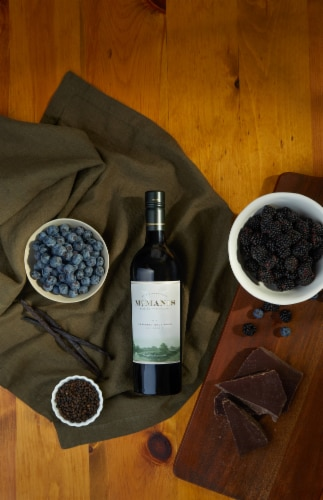McManis Family Vineyards Cabernet Sauvignon Red Wine Perspective: top