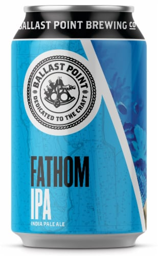 Ballast Point Fathom IPA Craft Beer Perspective: top