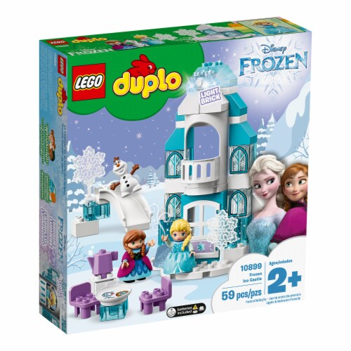 LEGO DUPLO 10899 Disney Frozen Ice Castle Building Kit 59 Pieces w/ 3 Figures Perspective: top