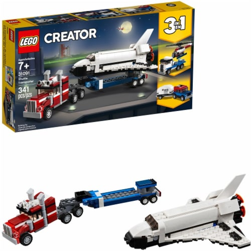 LEGO Creator Shuttle Transporter Perspective: top