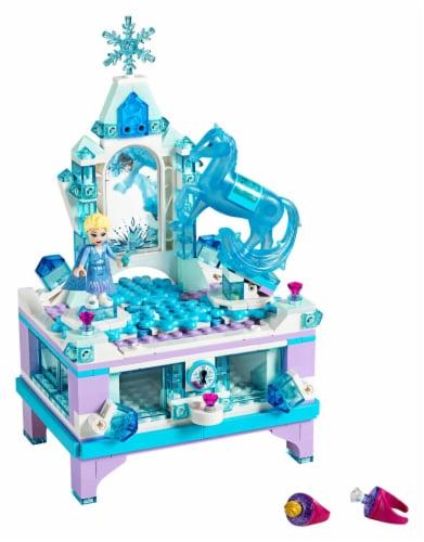 LEGO® Disney Frozen 2 Elsa's Jewelry Box Creation Perspective: top