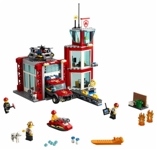 60215 LEGO® City Fire Station Perspective: top