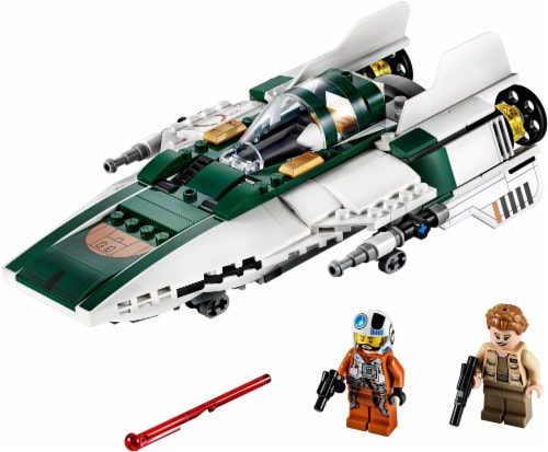LEGO® Star Wars Resistance A-Wing Starfighter™ Perspective: top