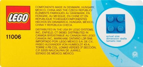 11006 LEGO® Classic Creative Blue Bricks Perspective: top