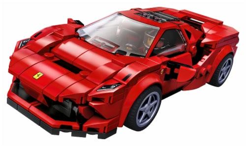 LEGO® Speed Champions Ferrari F8 Tributo Building Set Perspective: top