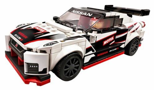 76896 LEGO® Speed Champions Nissan GT-R NISMO Perspective: top