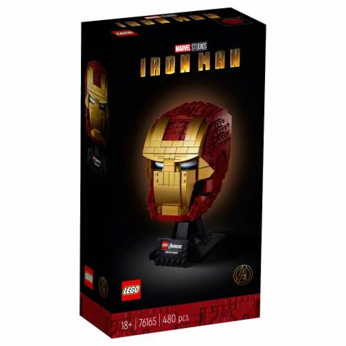 76165 LEGO® Avengers Iron Man Helmet Collectible Perspective: top