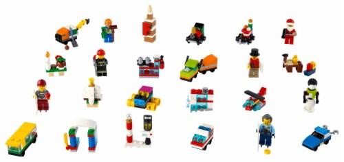 LEGO® City Advent Calendar Perspective: top