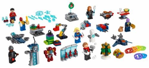 LEGO® 76196 The Avengers Advent Calendar Perspective: top