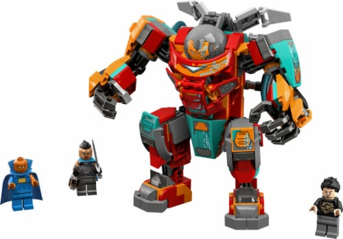 LEGO® Marvel What If? Tony Stark's Iron Man Building Set Perspective: top