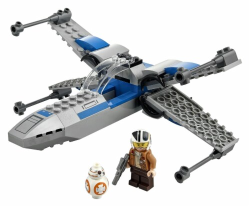 75297 LEGO® Star Wars Resistance X-Wing Building Set Perspective: top