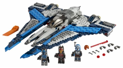 LEGO® Star Wars Mandalorian Starfighter Perspective: top